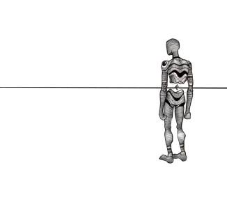 hombre sin sombra